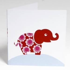 Bilde av Blafre, stort kort , elefant