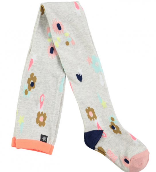 Molo, floral strømpebukser