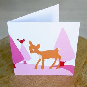 Bilde av Blafre, stort kort , bambi,