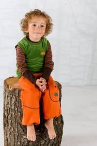 Bilde av Albababy, Debbie bukse orange