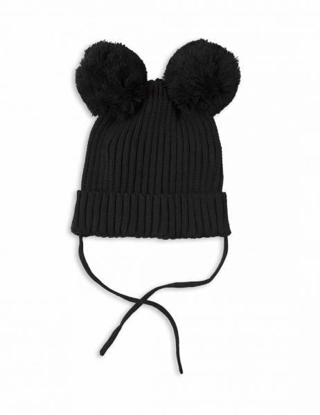 Mini rodini, ear hat black