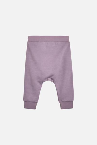 Hust & Claire, bukse Gaby ull/bambus purple fog