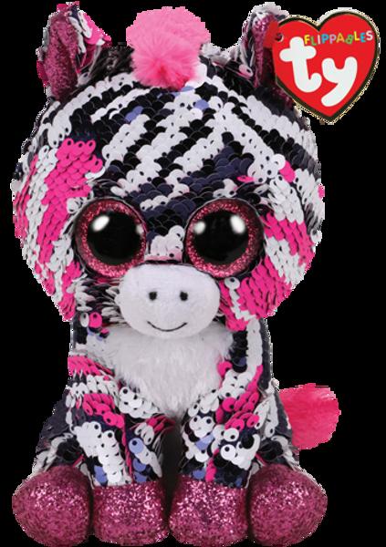Ty, Flippables Zoey zebra regular