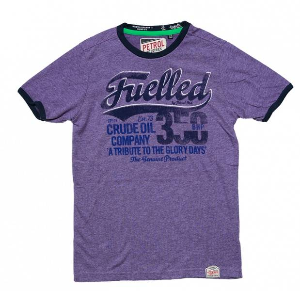 Petrol,  lilla t-skjorte