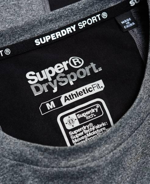 Superdry, gym basic sport runner grey grit