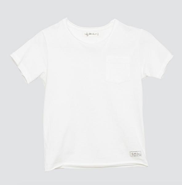 I dig denim, Como t-skjorte offwhite