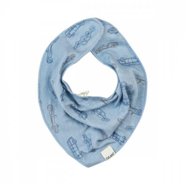 Celavi smekke dusty blue i ullbambus