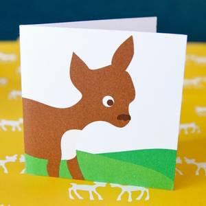 Bilde av Blafre, lite kort , bambi