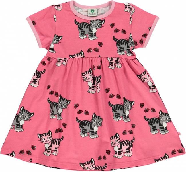 Småfolk rapture rose kjole med katter