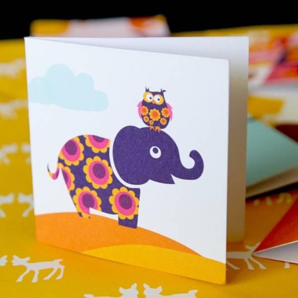Blafre, lite kort , elefant