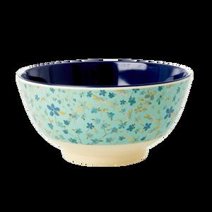 Bilde av Rice, bolle blue floral print