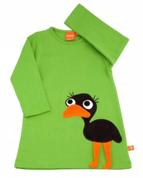 Lipfish, grønn kjole emu