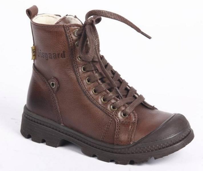 Bisgaard texstøvel brown , ullfor 60303