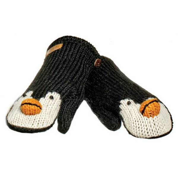 Knitwits, votter Peppy the penguins