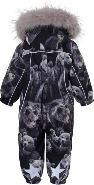 Molo vinterdress Pyxis teddy fur
