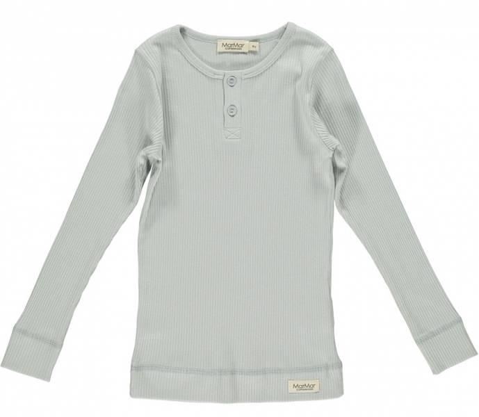 Marmar, genser med knapper grey sky