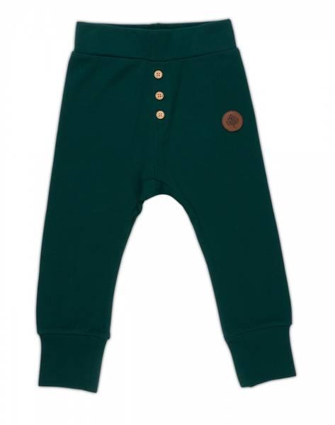 Gullkorn design,  Villvette babybukse dyp grønn