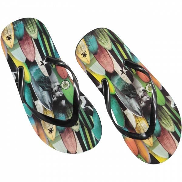 Molo Zeppo surfboards flipflops