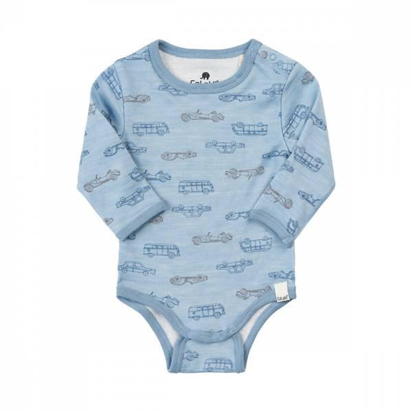 Celavi body dusty blue ullbambus