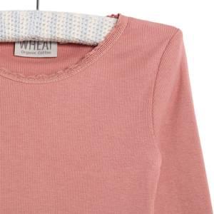 Bilde av Wheat rib genser soft rouge