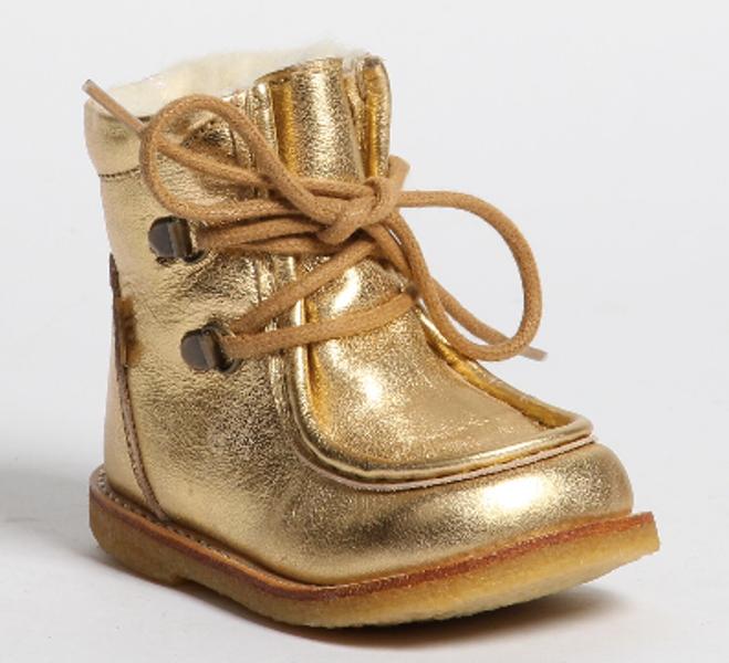 Bisgaard texstøvel gold 60508