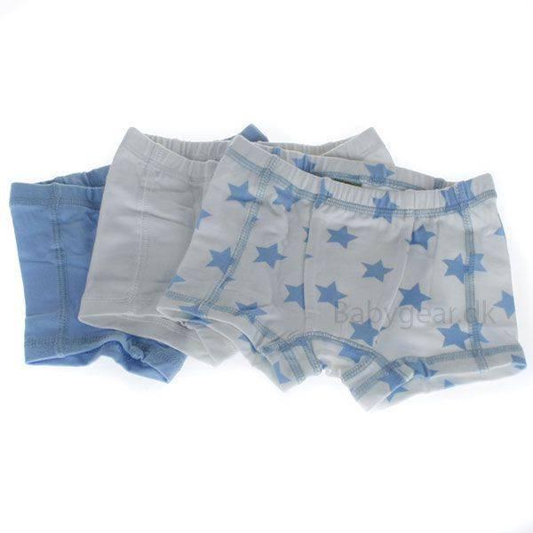 Celavi, 3 pakk boxershorts hvit/lyseblå