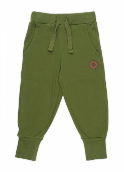 Gullkorn design,  Villvette bukse pestogrønn