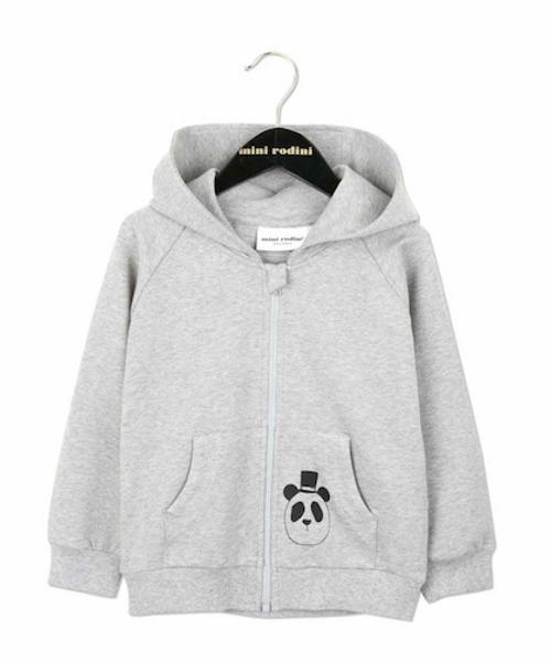 Mini rodini, basic hood grey