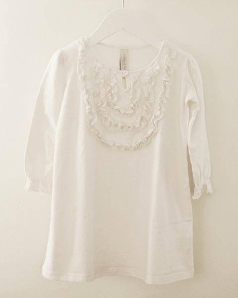 Nattkjole off white, Cotton & Button