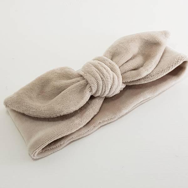 Unik Design, Knytebånd spiss matt sand