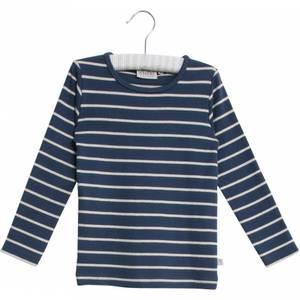 Bilde av Wheat stripet genser indigo