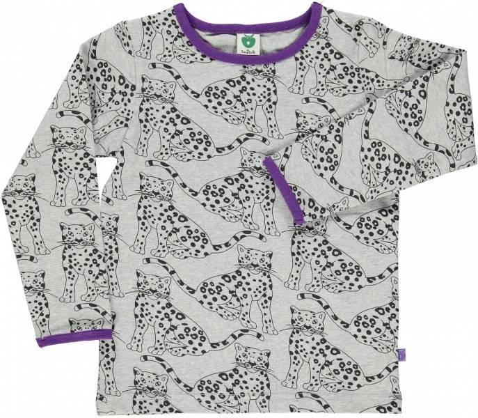 Småfolk, grå genser leopard
