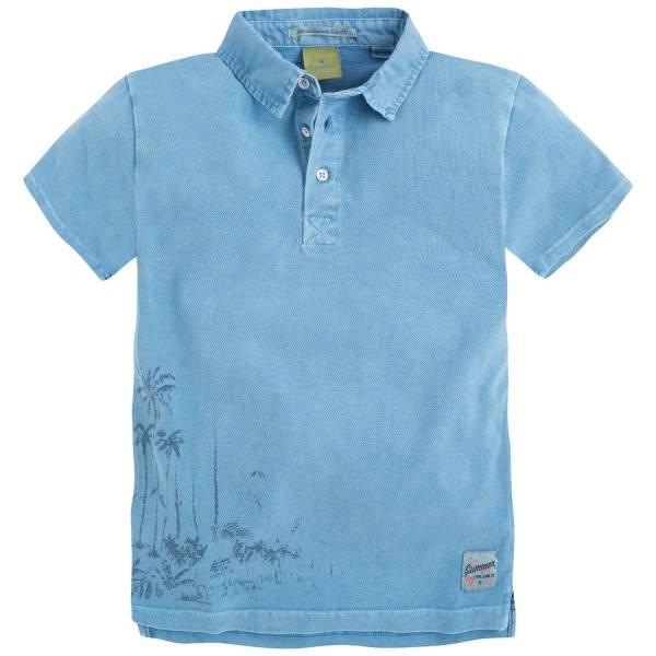 Pepe Jeans, Thames blå piqueskjorte