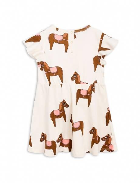 Mini rodini, kjole med hesteprint