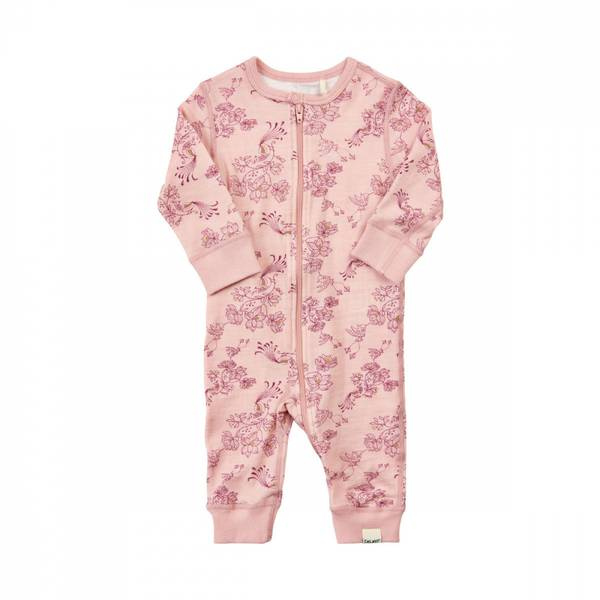 Celavi jumpsuit silver rosa ullbambus