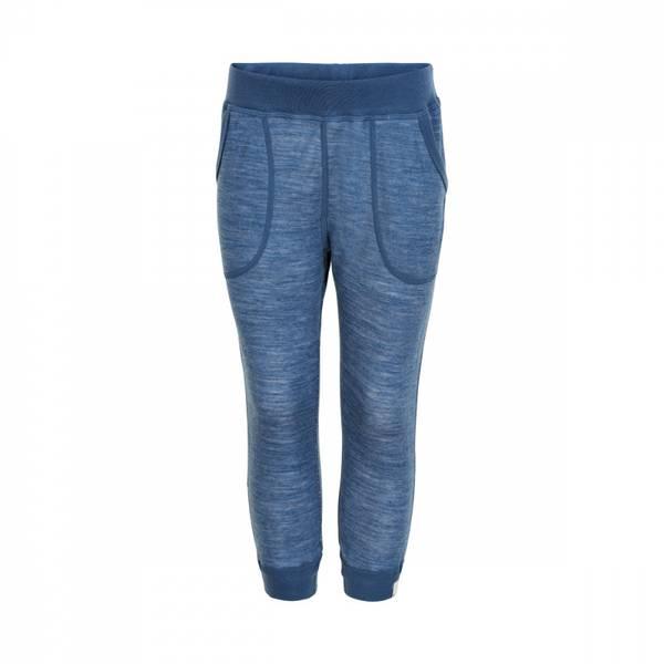 Celavi bukse ensign blue ullbambus
