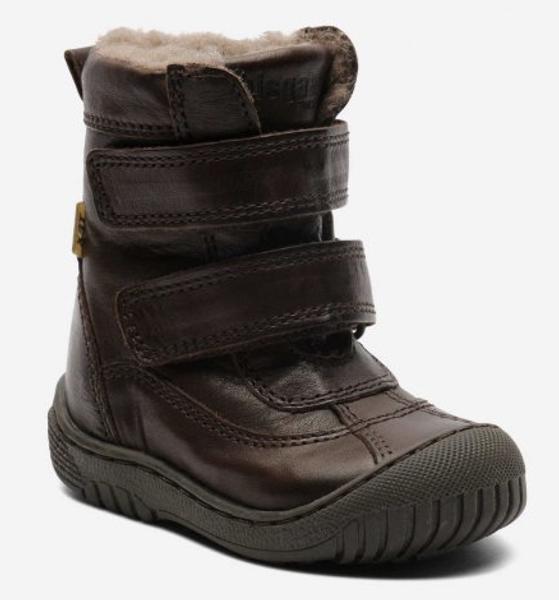 Bisgaard texstøvel brown 61016