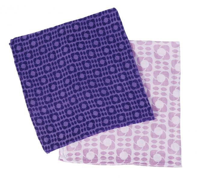Sebra,  kluter lilac graphic, 2 pk