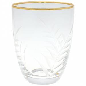 Bilde av GreenGate, glass med gullkant