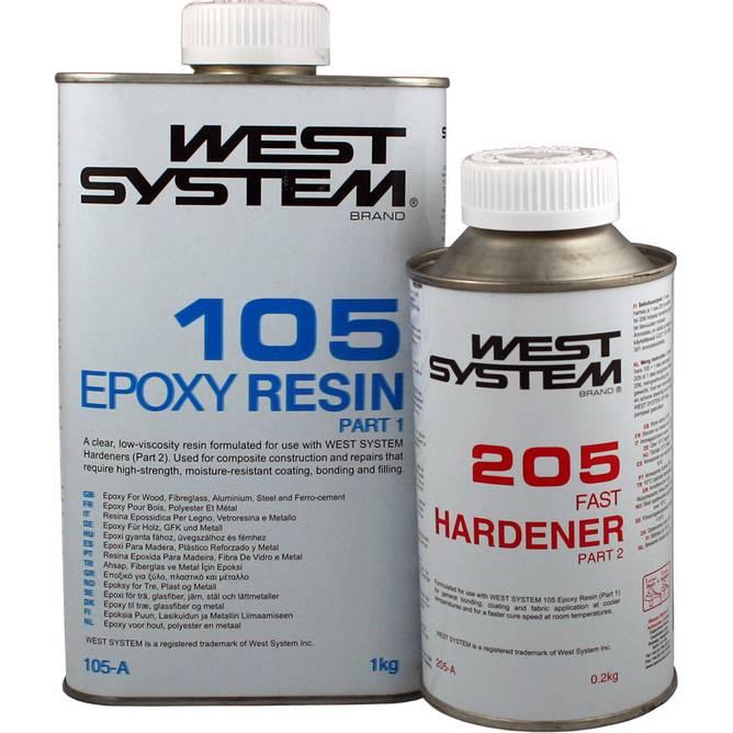 Bilde av West system Epoxy
