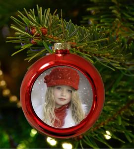 Bilde av Valgfritt bilde, rød julekule