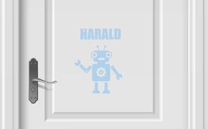 Bilde av Robot + navn