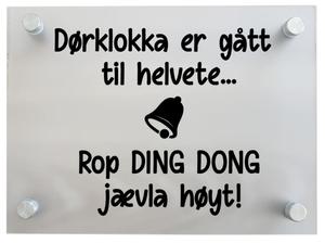Bilde av Dørklokka....