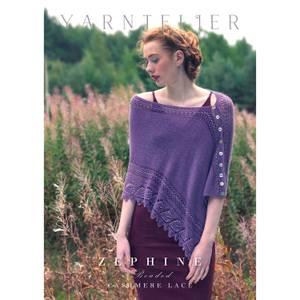 Bilde av Yarntelier Zephine beaded shawl Cashmere Lace