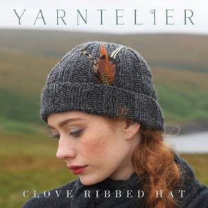 Bilde av Yarntelier Clove Ribbed Hat Cashmere Gilli
