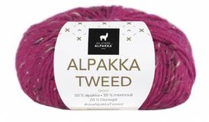 Bilde av DSA Alpakka Tweed 121 Cyklamen rosa garn