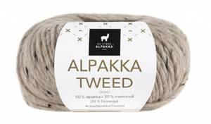 Bilde av DSA Alpakka Tweed 107 Beige garn