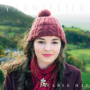 Bilde av Yarntelier Cable Hat Cashmere Gilli