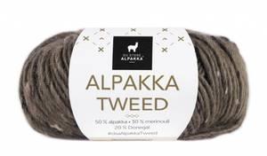 Bilde av DSA Alpakka Tweed 112 Brun garn