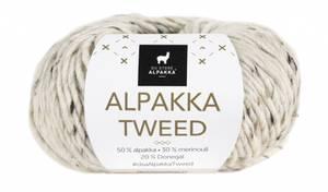 Bilde av DSA Alpakka Tweed 113 Natur garn